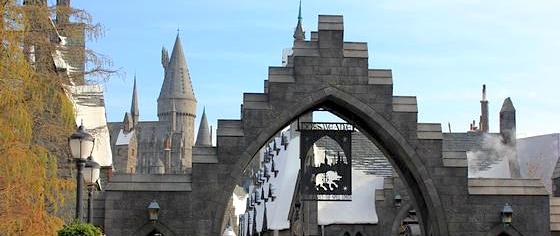 On the Road to the Wizarding World Hollywood... and Orlando, and Japan, and London