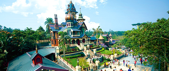 Where Would You Visit on a Dream Theme Park Vacation?