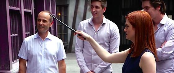 Interactive Wands Coming to Wizarding World Hollywood