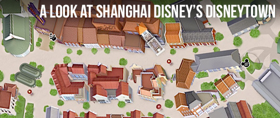Let's Take a Look at Shanghai Disney's 'Disneytown' District