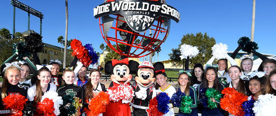 Walt Disney World Invests in More Cheerleading Events