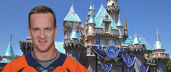 Peyton Manning Is Coming to Disneyland