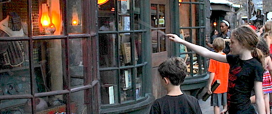 On the Road to the Wizarding World Hollywood: Ollivander's