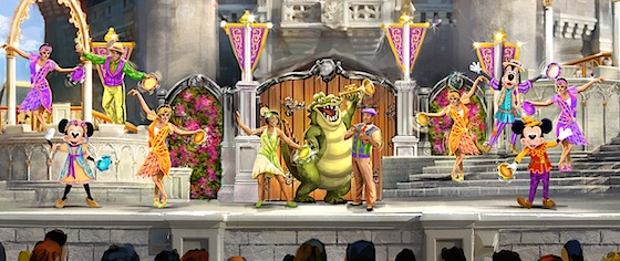 New Castle Stage Show Coming to the Magic Kingdom