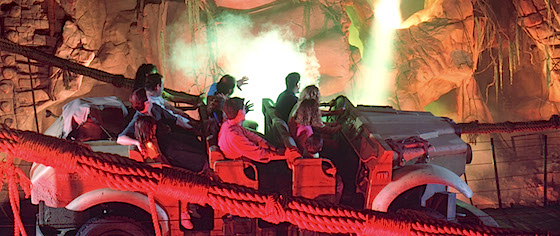 Tracking the Evolution of the Dark Ride
