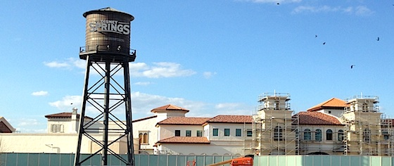 Disney World 'Tops Off' Disney Springs with its Water Tower
