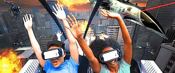 Six Flags to Add Virtual Reality to Nine Coasters This Year