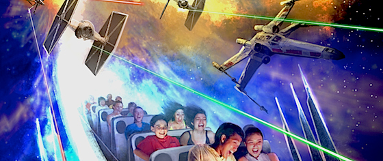 How Hyperspace Mountain Fits into Star Wars Canon