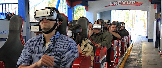 Reality Check: Six Flags Revolutionizes Coasters with VR