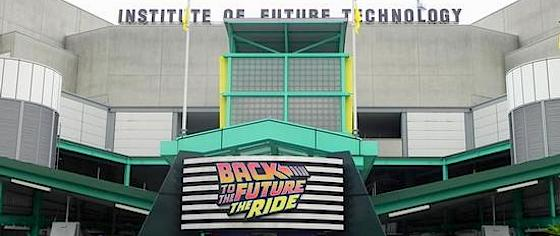 Final 'Back to the Future' Ride to Close in May