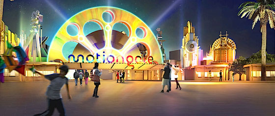 Let's Look at the Attraction Line-up for motiongate Dubai