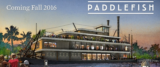 Paddlefish will replace Fulton's Crab House in Disney Springs