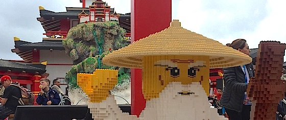 Legoland reinvents interactive gameplay with Ninjago The Ride