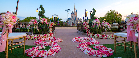 Disney offers its ultimate location for a fairy tale dream wedding