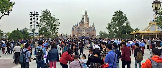 Invitation-only soft openings start at Shanghai Disneyland