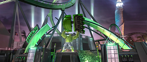 Universal reveals more detail about its new Hulk coaster