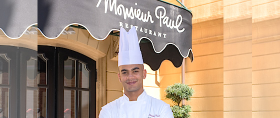 A new chef takes over at Epcot's award-winning Monsieur Paul