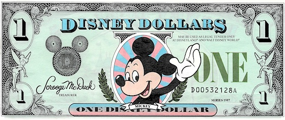Now it's time to say good-bye... to Disney Dollars