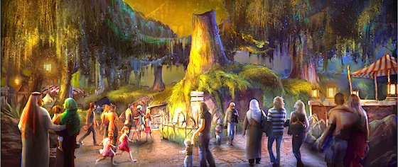 Where will we see Shrek next in theme parks?