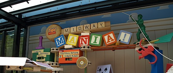 Third track opens for Disney World's Toy Story Midway Mania