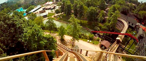 Let's take a ride on Holiday World's The Legend - reborn