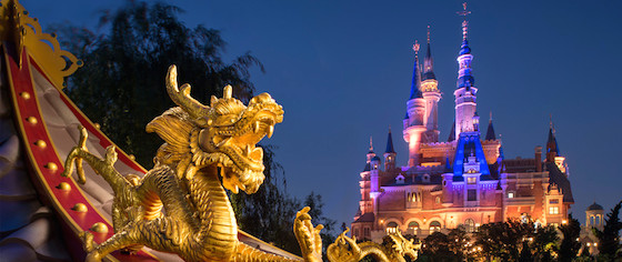 A video tour of Disney's new Shanghai Disneyland