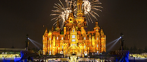 Watch the opening gala for Shanghai Disneyland
