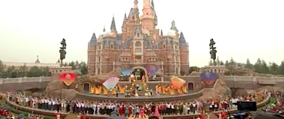 Disney officially opens Shanghai Disneyland