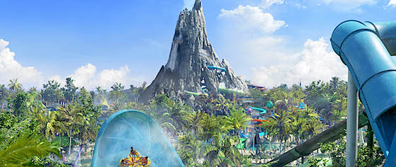 Universal Orlando reveals line-up for its Volcano Bay water park