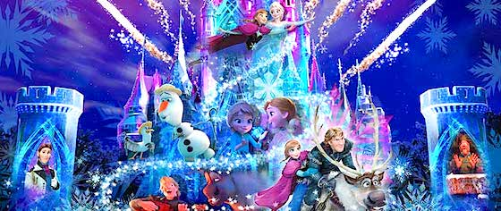 New 'Frozen' castle projection show to debut in Tokyo next year
