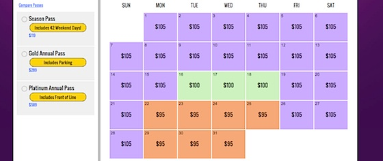 Who's doing date-variable pricing better: Disney or Universal?