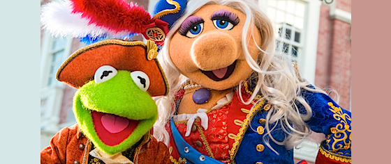 Image result for muppets liberty square magic kingdom