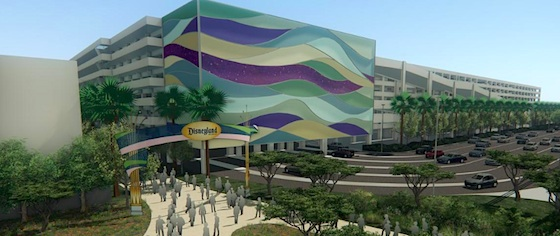Disneyland details its new parking garage and entryway plans