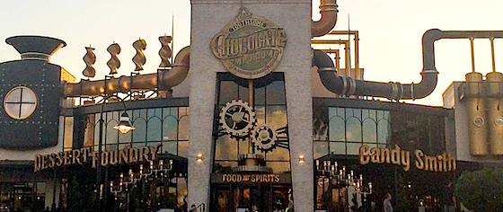 Toothsome Chocolate Emporium opens at Universal Orlando's CityWalk