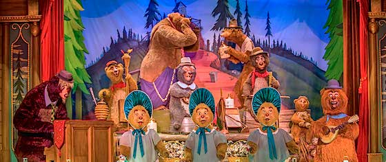 Disney celebrates 45 years of the Country Bear Jamboree