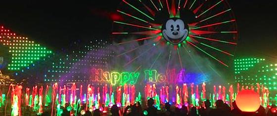 Is Disney California Adventure getting a new holiday World of Color show?