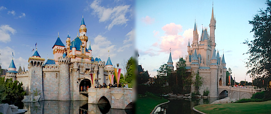What's the difference between Disneyland and Walt Disney World?