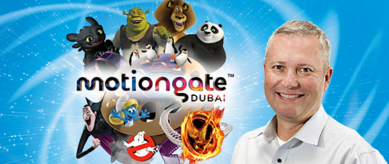 Interview with John Hallenbeck, General Manager of Motiongate Dubai