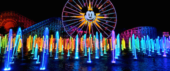 World of Color - Season of Light debuts at Disney California Adventure