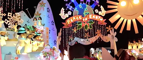 Is Small World Holiday the best, or worst, of Disney's holiday overlays?