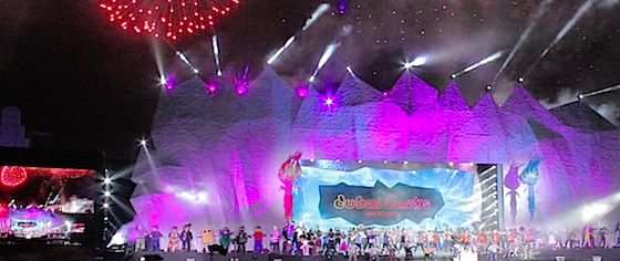 Dubai Parks and Resorts opens with musical spectacular