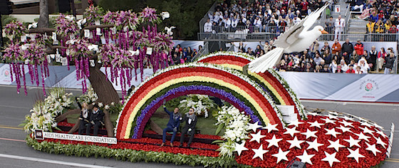 Rose Parade honors Orlando and the Pulse nightclub victims