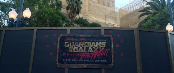 First look inside Disney's new Guardians of the Galaxy ride