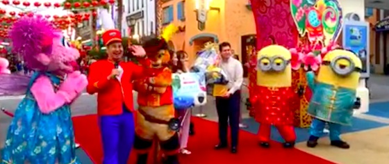 Universal Studios Singapore welcomes its 25 millionth visitor