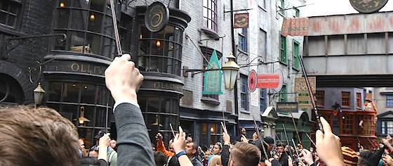 Fans celebrate Harry Potter at the Universal Orlando Resort