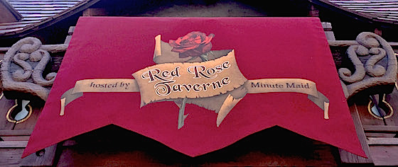 Where to eat? Lunch at Disneyland's Red Rose Taverne