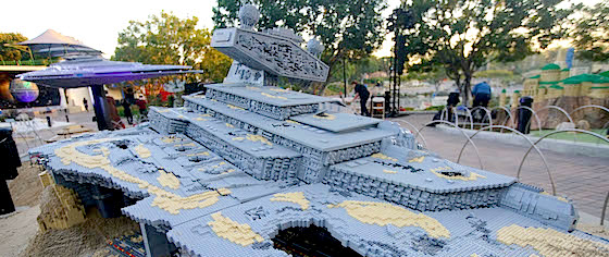 The Force Awakens in Legoland's Star Wars Miniland