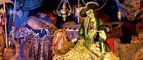 Happy 50th birthday to Disneyland's Pirates of the Caribbean
