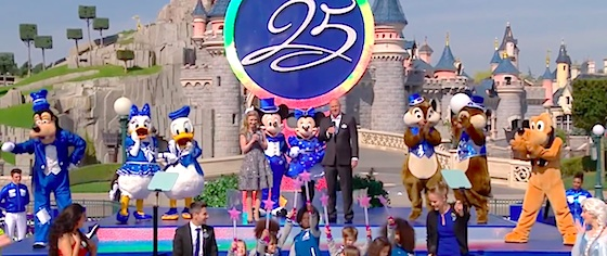 Disneyland Paris celebrates its 25th anniversary with new shows, parade