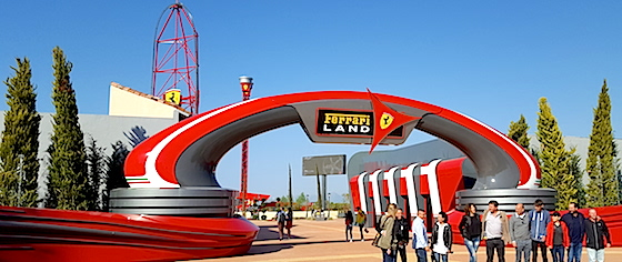 Ferrari Land opens at PortAventura World in Spain